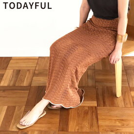 TODAYFUL トゥデイフル LIFE's ライフズLacy Knit SK レーシーニットスカート 11910812【2019A/W新作】【あす楽】【送料無料】≪8月8日入荷≫
