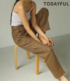 TODAYFUL 春夏 トゥデイフル LIFE's ライフズHerringbone Linen Trousers ヘリンボーンリネントラウザーズ 12010706【2020S/S新作予約】【5月下旬-6月下旬お届け予定】≪1月22日予約開始≫