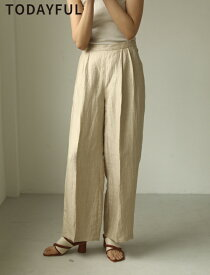 【SUMMER SALE】【40%OFF】TODAYFUL 春夏 トゥデイフル LIFE's ライフズDelve Linen Trousers リネントラウザーズ 12010726【2020S/S新作】【あす楽】【送料無料】