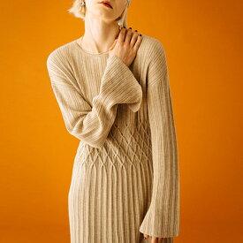 LAYMEE レイミーglamb グラムLino knit OP リノニットワンピース LY19WT/KNT04レディース【2019A/W新作】【あす楽】【送料無料】