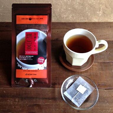 生姜あったか燃出茶 18g(1.5g×12P) ノンカフェインレス お茶 しょうが茶 冷え対策 国産 茶葉 因島杜仲茶 無農薬 日本茶 ギフトセット 健康茶 ショウガ茶 生姜茶 胆汁酸ダイエット茶 ダイエットティー