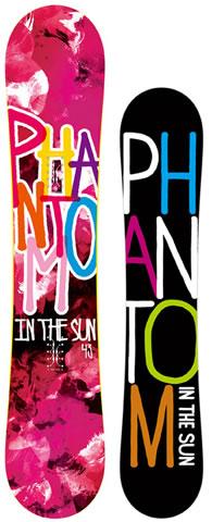 【スノーボード】PHANTOM IN THE SUN(ファントムインザサン)SLASH 143cm【206】【ラッキーシール対応】