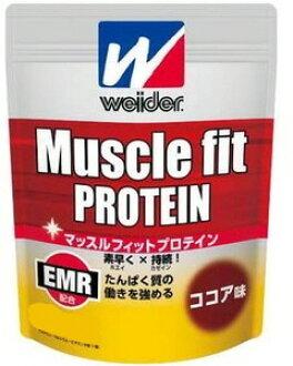 Weider(위다) Muscle fit PROTEIN(머슬 피트 프로테인) 코코아 900 g C6JMM51300