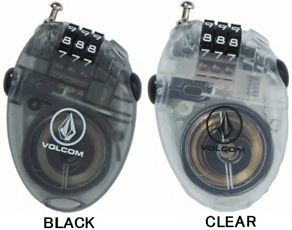 【スノーアクセサリー】VOLCOM(ボルコム)VCM WIRE LOCK(盗難防止用ワイヤーロック)J67519JD【350】