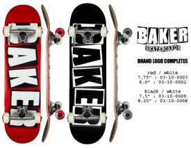 【送料込み(一部地域除く)】【スケートボード完成品】BAKER(ベイカー)BRAND LOGO COMPLETE【750】