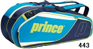 【テニスラケットケース】PRINCE(プリンス)ラケットバッグ(6本入れ)AT872【750】
