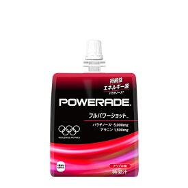 パワーエイドゼリー フルパワーショット 180gパウチ (6本入) ゼリー飲料