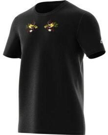 【ラグビーウエア】ADIDAS(アディダス)オールブラックス 日本限定 スカジャン風 半袖Tシャツ FSQ97【350】【ラッキーシール対応】