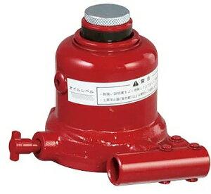 【送料込み(一部地域除く】【建設荷役用品】MASADA(マサダ)ミニタイプ低型油圧ジャッキ 5t MMJ-5T-2【122】