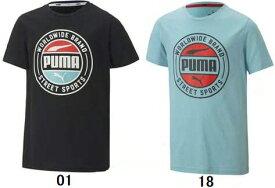 【ジュニアスポーツウエア】PUMA(プーマ)ALPHA サマー 半袖Tシャツ 583011【750】