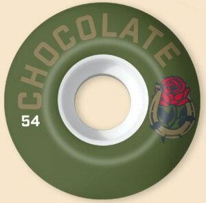【スケートウィール】CHOCOLATE(チョコレート)LUCHADOR WHEEL(4個1セット)サイズ:54mm【350】