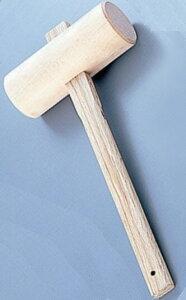 【大工工具】藤原義工具店木槌(きづち)木製ハンマー 48mm【452】