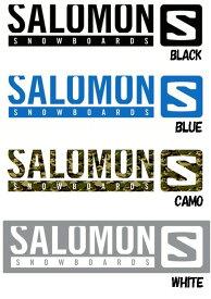 【スノーステッカー】SALOMON(サロモン)STICKER M(カッティングタイプ)SIZE:W270×H58mm【350】【ラッキーシール対応】