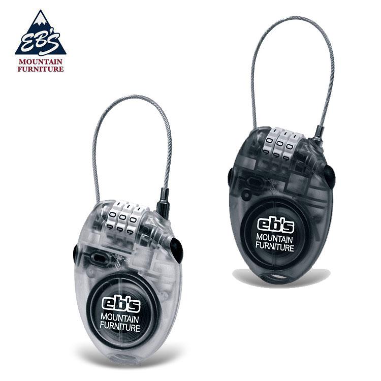 【スノーアクセサリー】eb's(エビス)CABLE LOCK(ケーブルロック)盗難防止【350】【ラッキーシール対応】