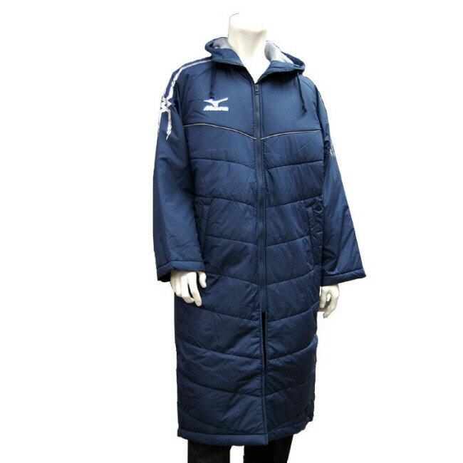 【冬物スポーツウエア】MIZUNO(ミズノ)17 オリジナルロングベンチコート32JEE750【350】