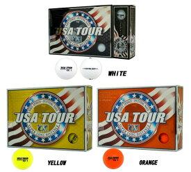 【ゴルフボール】朝日ゴルフ USA TOUR DISTANCE+Alpha 12P USATOUR-BALL【350】