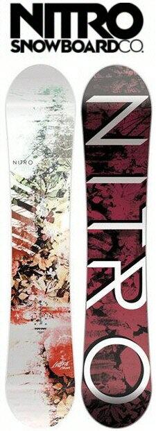 【レディーススノーボード】NITRO(ナイトロ)LECTRA(レクトラ)【350】