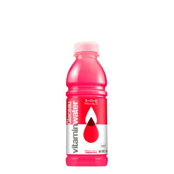 グラソー ビタミンウォーター スーパーC 500ml 12本 (12本×1ケース) PET ペットボトル 安心のメーカー直送 コカコーラ社