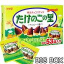 【大容量BOX】明治 たけのこの里★BIG BOX★53袋/609g/箱入り きのこの山 MEIJI チョコレート 個包装 配布用お菓子 配…