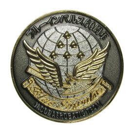 自衛隊グッズ ブルーインパルス 創設60周年 オリジナル記念メダル ケース入り