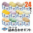【アイスクリーム】ブルーシール詰合せギフト24(送料込)