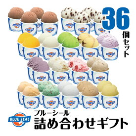 【アイスクリーム】ブルーシール詰合せギフト36(送料込)