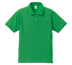 d42517c10cc4d9 ポロシャツ メンズ レディース 半袖 無地 緑 グリーン xs s m l xl 2l 3l 4l 5l 大きいサイズ