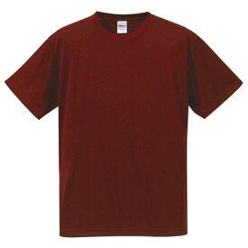 Tシャツ キッズ メンズ レディース 半袖 無地 ワイン 赤 130 140 150 160 ドライ 速乾 スポーツ uv tシャツ シャツ トップス 男 女 ユニセックス ポリエステル100% 丈夫 カジュアル 子供 ジュニア ブランド カット おしゃれ かっこいい 色 シンプル ゆったり 吸汗 レッド