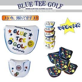 ☆BLUE TEE GOLF California 【スマイル&ピンボール】 マレット型 パターカバー ブルーティーゴルフ