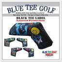 ☆BLUE TEE GOLF California 【パー72 Against PAR72】 ブレード型 パターカバー【カラー:ブラック】 Limited Pr...