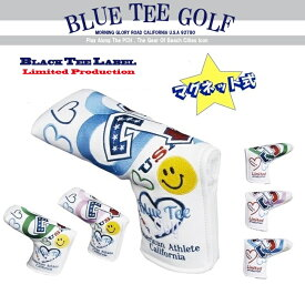 ☆BLUE TEE GOLF California 【パー72 Against PAR72】 ブレード型 パターカバー Limited Production