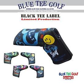 ☆BLUE TEE GOLF California 【パー72 Against PAR72】 ブレード型 パターカバー【カラー:ブラック】 Limited Production