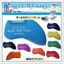 ☆ブルーティーゴルフ BLUE TEE GOLF California ストレッチ素材 アイアン用【窓付きタイプ】 ヘッドカバー【8個セット】オーバーサイズ対応