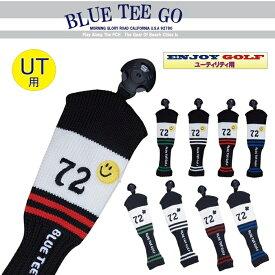 BLUE TEE GOLF California 【カリフォルニア72】 UT用 アクリル ニット ヘッドカバー ☆ブルーティーゴルフ 【Tokyo新橋店】