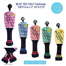 BLUE TEE GOLF California 【カリフォルニア ストライプ】 UT用 アクリル ニット ヘッドカバー ☆ブルーティーゴルフ 【Tokyo新橋店】
