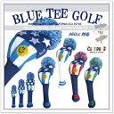 BLUE TEE GOLF California 【アメリカンフラッグ バージョン:3】 ポリエステル ニット ヘッドカバー アメリカン フラッグ【Tokyo ...