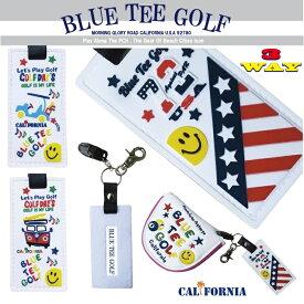 ☆アウトレット品(訳あり) BLUE TEE GOLF California 【3WAYホルダー】パターカバーホルダー♪ グローブホルダー♪ ネームプレート♪【Tokyo 新橋店】