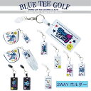 ☆ニューモデル発売開始♪ ブルーティーゴルフ BLUE TEE GOLF California パターカバーホルダーグローブホルダー兼用