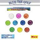 ☆ブルーティーゴルフ BLUE TEE GOLF California 【ホログラムマーカー:単品】ボールマーカー【Tokyo 新橋店】