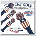 BLUE TEE GOLF California 【アメリカンフラッグ バージョン:1】 ニット ヘッドカバー アメリカン フラッグ【Tokyo 新橋店】