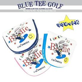 アウトレット BLUE TEE GOLF California 【2018キャラクターシリーズ:バーディーラビット】 マレット型パターカバー ブルーティーゴルフ