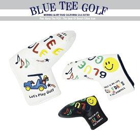 BLUE TEE GOLF California 【2018スマイル&カート】 ブレード型パターカバー ☆ブルーティーゴルフ