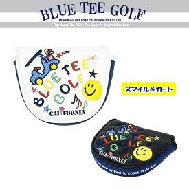 BLUE TEE GOLF California 【2018スマイル&カート】マレット型パターカバー ☆ブルーティーゴルフ