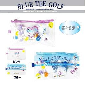 ☆BLUE TEE GOLF California 【ビニールポーチ】【Tokyo 新橋店】