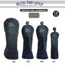 BLUE TEE GOLF California 【クラシック バージョン:4本セット販売】キャットハンド ヘッドカバー