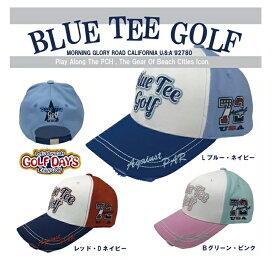 ☆BLUE TEE GOLF California 【Against PAR 72】 ブルーティーゴルフ オリジナル コットンキャップ 【Tokyo 新橋】
