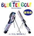 BLUE TEE GOLF California 【ハワイアンサーフ】 セルフ スタンドバッグ ☆ブルーティーゴルフ