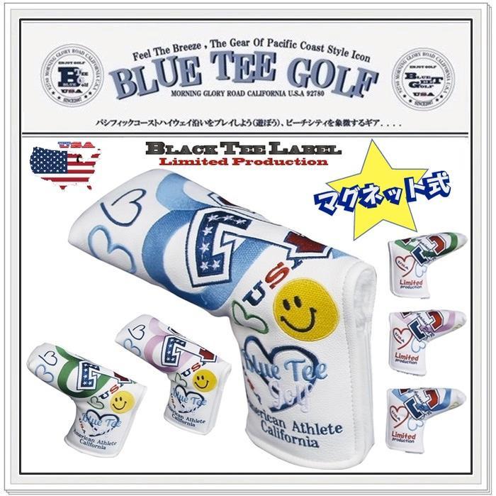 ☆BLUE TEE GOLF California 【パー72 Against PAR72】 ブレード型 パターカバー Limited Production