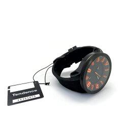 Tendence テンデンス 腕時計 Black & Orange 3H TT530003 Parallel import goods [並行輸入品]