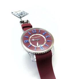 Tendence テンデンス 腕時計 Slim Pop Burgundy 3H TG131001 Parallel import goods [並行輸入品]